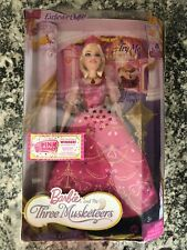 BARBIE AND THE 3 MUSKETEERS SINGING CORINNE DOLL 2008 - RARE - NEW