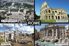 SOUVENIR FRIDGE MAGNET of ROME ITALY