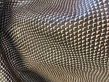 21-23 sq ft EDELMAN LEATHER Faux 'Rattlesnake' Razzle Dazzle Hand-Antiqued Hide