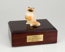 Ragdoll Cat Figurine Pet Cremation Urn Available in 3 Different Colors & 4 Sizes