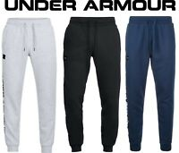 Men's Under Armour Rival Fleece Script Joggers Sweatpants UA 1322030
