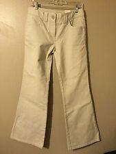 NWT Tommy Hilfiger All Aboard Khaki Denim Pants Size 6