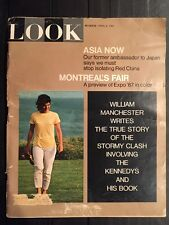 LOOK Magazine April 4 1967 Bobby Robert Jackie Kennedy WILLIAM MANCHESTER