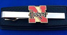 Nebraska Cornhuskers Logo Tie Clip College Tie Clasp