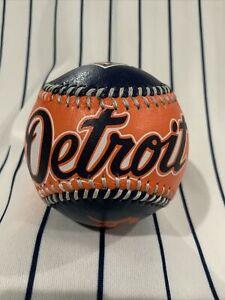 Spinneybeck Leather Baseball Detroit Tigers 1994 Souvenir Collectible Ball