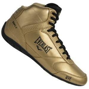 Everlast Ring 2 Womens Boxing Shoes Trainers Runners Gold Black