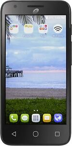 ZTE Citrine Z717VL TracFone 8GB Black Cell Phone Android (Straight Talk)