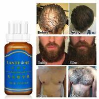 Bottle 20ml Men Beard Growth Oil Eyebrow Growth Enhancer Chest Hair Growth