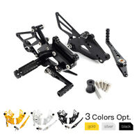 NiceCNC Adjustable Rearsets For 2015-2016 BMW S1000RR Racing Style Foot Peg Kit