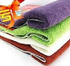 2pcs Absorbent Microfibre Car Cleaning Wash Towel Cloth