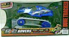 New Bright RC Dune Tracker Radio Control Stunt Buggy 1:18 scale - Blue New 6+
