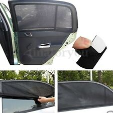 2PCS Black Outdoor Baby Kids Car Window Socks Mesh UV Protection Sun Shades