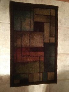 "Bathroom Rug (20"" x 34"") Multicolored"