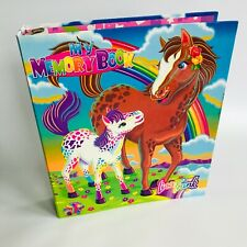 Lisa Frank Ring Binder My Memory Book Horse Pony Rainbow Chaser & Lollipop
