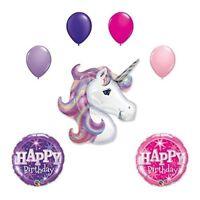 Lavender Unicorn Birthday Party Balloon bouquet