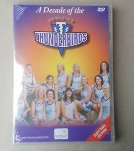 A DECADE OF THE ADELAIDE THUNDERBIRDS DVD BRAND NEW FACTORY SEALED ALL REGIONS