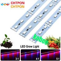 LED Grow Lights DC12V 5630 36LEDs LED Bar Rigid Strip Red Blue For Aquarium 10PC