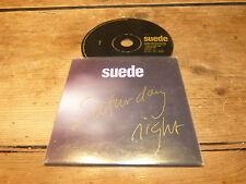 SUEDE - SATURDAY NIGHT !!!!!!!!!!! MEGA RARE PROMO CD !