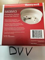 HONEYWELL ADEMCO 5808W3 PHOTOELECTRIC WIRELESS SMOKE HEAT DETECTOR NEW W BATTERY