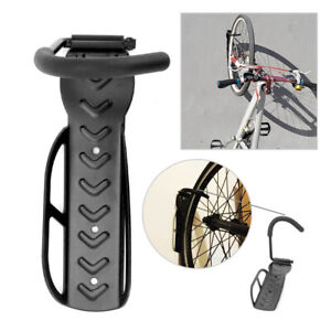 2x Bike Storage Rack Hook Wall Mount Vertical Garage Bicycle Hanger Stand Holder