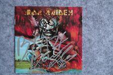 Iron Maiden - Virtual XI CD Album signed / autograph / signiert