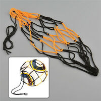 Nylon Net Bag Ball Carry Mesh Volleyball Basketball Football Soccer Useful  Yw