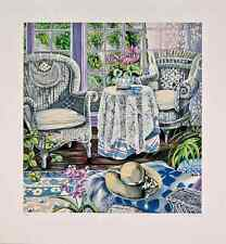 """Susan Rios - """"Sunday Morning"""", hand-signed serigraph on paper"""