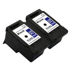 2 Black Canon PG-245XL 245 XL Ink Cartridges for PIXMA MG3020 MX490 MX492