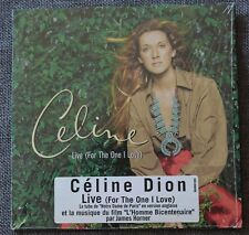 Celine Dion, live (for the one i love) / then you look at me, CD single