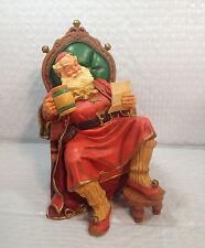 Scott Gustafson St. Nicholas Sculpture Figurine (Christmas Holiday Santa Claus)