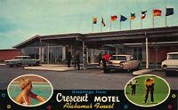 Postcard Crescent Motel U.S. 31 South in Decatur, Alabama~123170