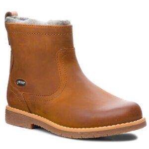 BNIB Clarks Comet Frost GTX Girls Tan Leather Boots F/G Fitting