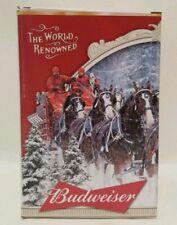2015 Budweiser Holiday Stein 35th Anniversary Edition