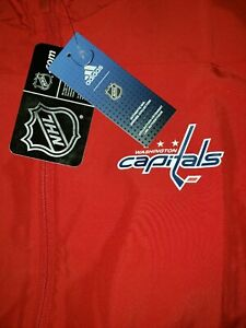 ADIDAS NHL  WASHINGTON CAPITALS FULL-ZIP RINK JACKET