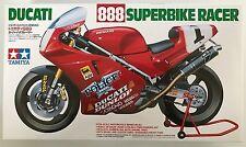 Tamiya 14063 DUCATI 888 SUPERBIKE Racer 1/12 Kit de modelismo NUEVO, EN CAJA