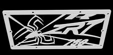 "cache radiateur / grille de radiateur inox Kawasaki ZR7 et ZR7S ""Araignée"""
