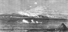 BULGARIA.Battle of Dzuranli nr Eski Sagra (Stara Zagora).Turkish positions, 1877