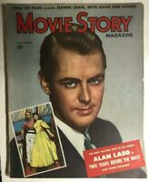 MOVIE STORY magazine November 1946 Alan Ladd cover, Blondie Knows Best