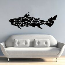 shark fish Home Decoration Wall Paper Art viny removable Sticker WS282