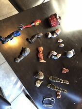 Marvel Legends BAF Parts Lot Build A Figure Parts Rhino Absorbing Man Juggernau