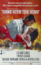 Gone With The Wind (1939) Clark Gable Vivien Leigh 24x36 Movie Poster Print