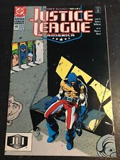 "Justice League America#49 Incredible Condition 9.2(1991)""Glory Bound"" Medley Art"