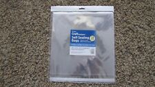 """New listing 12.25 x 12.25"""" Crystal Clear Self-Sealing Envelopes - 18 Count"""