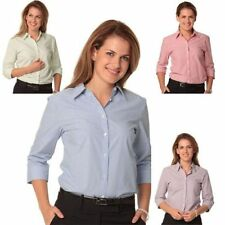 Striped Collared Blouses for Women