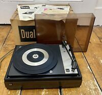 DUAL 420 Semi Automatic Record Player CS6 Chassis All Original Packaging 1970's
