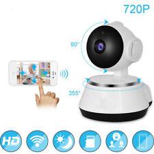 720P Digital Smart Wireless Wifi Baby Monitor Audio Video Camera 2 Way Talk