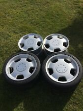 """Lorinser 4x 18"""" Alloy Wheels D93 9018544 Mercedes Benz AMG W210 124, 202,211,203"""