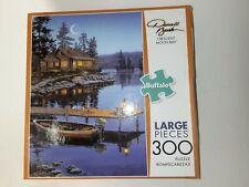 "Buffalo Brand Darrell Bush ""Crescent Moon Bay"" 300 Pc Jigsaw Puzzle **NIB**"