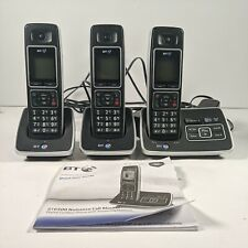 BT 6500 Cordless TRIO Phone with Answer Machine, Nuisance Call Blocker