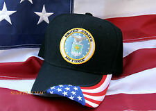 US AIR FORCE SEAL LOGO HAT WOWAFH GRADUATION PROMOTION AFB BOOT CAMP BASIC GIFT